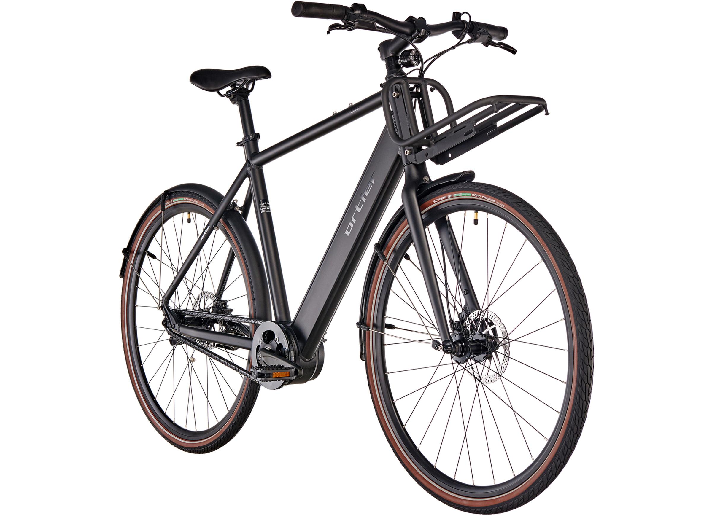 ortler ec700 e city bike black black at. Black Bedroom Furniture Sets. Home Design Ideas